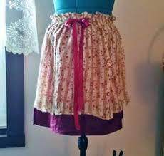 Shabby Chic Skirts by Upcycled Bohemian Dress Gypsy Dress Granny Chic Hippie