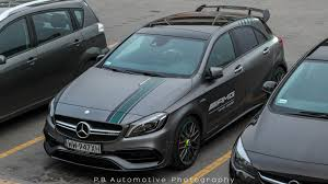 mercedes a class 45 amg mercedes amg a 45 w176 petronas 2015 chions edition start
