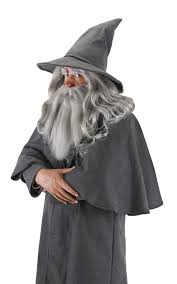 fire wizard costume amazon com elope lord of the rings the hobbit gandalf hat clothing