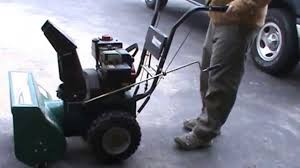 how to fix a snow blower that won u0027t start youtube