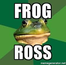 Foul Bachelor Frog Meme Generator - frog ross foul bachelor frog meme generator