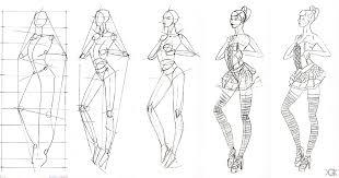fashion designers sketches step step sketch of fashion design 2