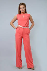 casual jumpsuit coral casual jumpsuit belted atlasday com