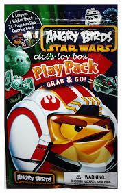 amazon angry birds star wars play pack crayons stickers
