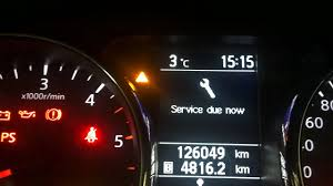 nissan australia service costs can u0027t reset your service due light in a nissan qashqai check