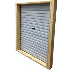Rona Doors Exterior Roll Up Steel Door For Shed 5 Ft X 6 White Exterior Doors Garage