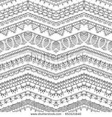 vector lace crochet background handmade ornate stock vector