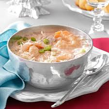 Lobster Bisque Recipe Creamy Seafood Bisque Recipe Taste Of Home
