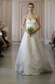 oscar de la renta lace wedding dress oscar de la renta bridal 2016 collection vogue