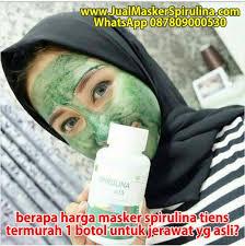 Masker Spirulina Per Butir berapa harga masker spirulina tiens termurah 1 botol untuk jerawat