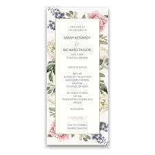 Custom Wedding Programs Custom Wedding Program Archives Noted Occasions Unique And