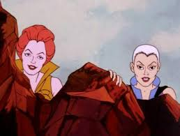 Teela And Evil Lyn - he man org cartoons and features he man and the masters of the
