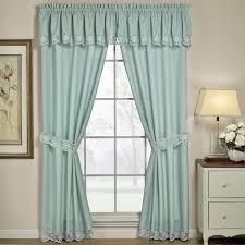 Short Curtains Interior Window Treatment Ideas For Bay Windows Fence Kitchen