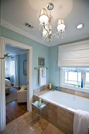 Sherwin Williams Rainwashed Is  Bumps Up The Palette From Halcyon - Blue bathroom 2