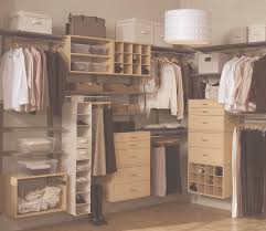 floating brown wooden closet with shoes and clothes storage