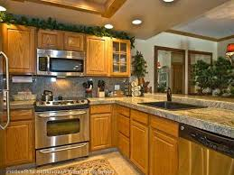 Kitchen Backsplash Pictures With Oak Cabinets Ideas Update Oak - Kitchen designs with oak cabinets