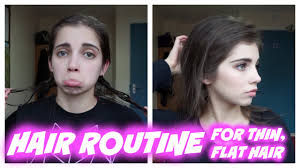 tips when youre bored of straight lifeless hair hair routine volumize thin flat fine hair with minimal products