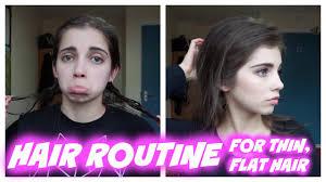 rachel thinning hair hair routine volumize thin flat fine hair with minimal products