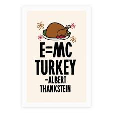 e mc turkey thanksgiving science posters human