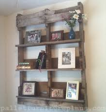 How To Make A Bookshelf Out Of A Pallet Making Shelves From Pallets Best 25 Pallet Shelves Ideas On