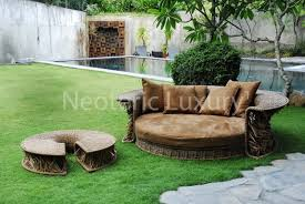 Outdoor Modern Furniture by Modern Outdoor Daybed Furniture Design Sculptural Collection By