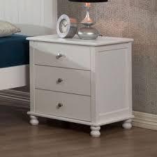 white anderson 3 drawer nightstand riley u0027s room pinterest