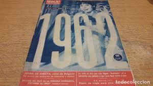imagenes hola diciembre revista hola nº 905 diciembre 1961 enero 19 comprar revista