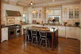 kitchen island cherry wood kitchen cozy image of u shape kitchen decoration using