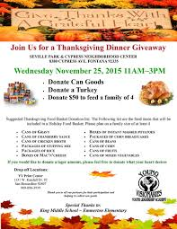 thanksgiving dinner giveaway