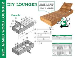 how to create your own wooden lounge bed kooyman bv