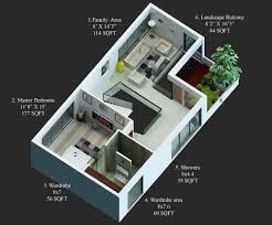 30 X 40 Floor Plans 15 X 50 House Design House And Home Design