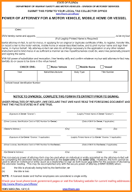 State Of Illinois Power Of Attorney Forms by 6 Power Of Attorney Form Florida Dmv Action Plan Template