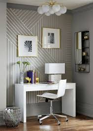 Silver Metallic Wallpaper by Diy Linear Wallpaper Silver Metallic Paint Metallic Paint And