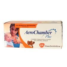 chambre d inhalation aerochamber aerochamber plus chambre inhalation pédiatrique gsk pharmacie