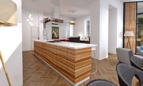 cuisine ouverte ilot central table pour cuisine americaine avec cuisine ouverte ilot central