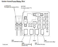 2001 honda accord main relay wiring diagram honda wiring diagram