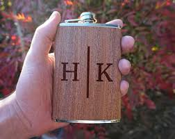 wooden flasks wood flask etsy