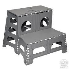 shop werner 3 step silver aluminum step stool at lowes com step