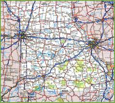 Springfield Map Missouri Road Map