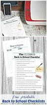 free back to checklist printable edventures with kids