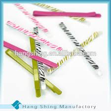 wide bobby pins wholesale fancy hairpin flat bobby pins with animal print buy