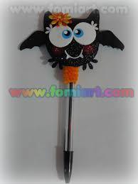 halloween bats crafts pluma decorada halloween fomiart plumas decoradas pinterest