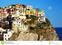 Manarola Italy Map by Manarola Village Cinque Terre Italy Stock Image Image 19950941