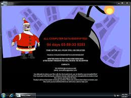 not such a merry the ransomware that also steals user