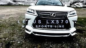 lexus version of land cruiser lx570 wald sports line youtube