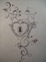 i have always loved the heart and key locks ideas i have so many