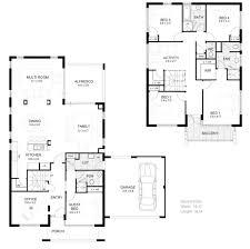 1 Floor Home Plans Leonawongdesign Co 2 Storey House Plansl