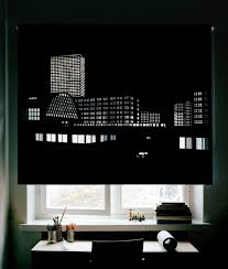 Roll Up Blackout Curtains Best 25 City Blinds Ideas On Pinterest Black Blinds Roller
