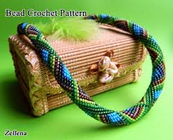 bead crochet necklace patterns images 73 best bead crochet patterns images beads jpg