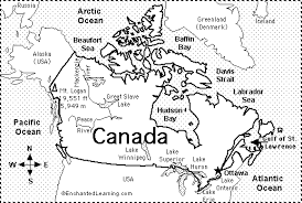 canada map quiz worksheet enchantedlearning com
